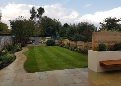 Surrey garden design Guildford